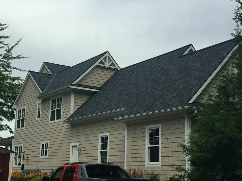Certainteed Highland Slate roof 6