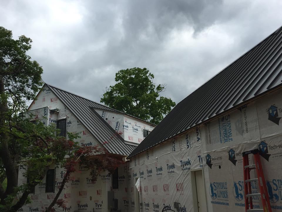 Standing seam roof 3